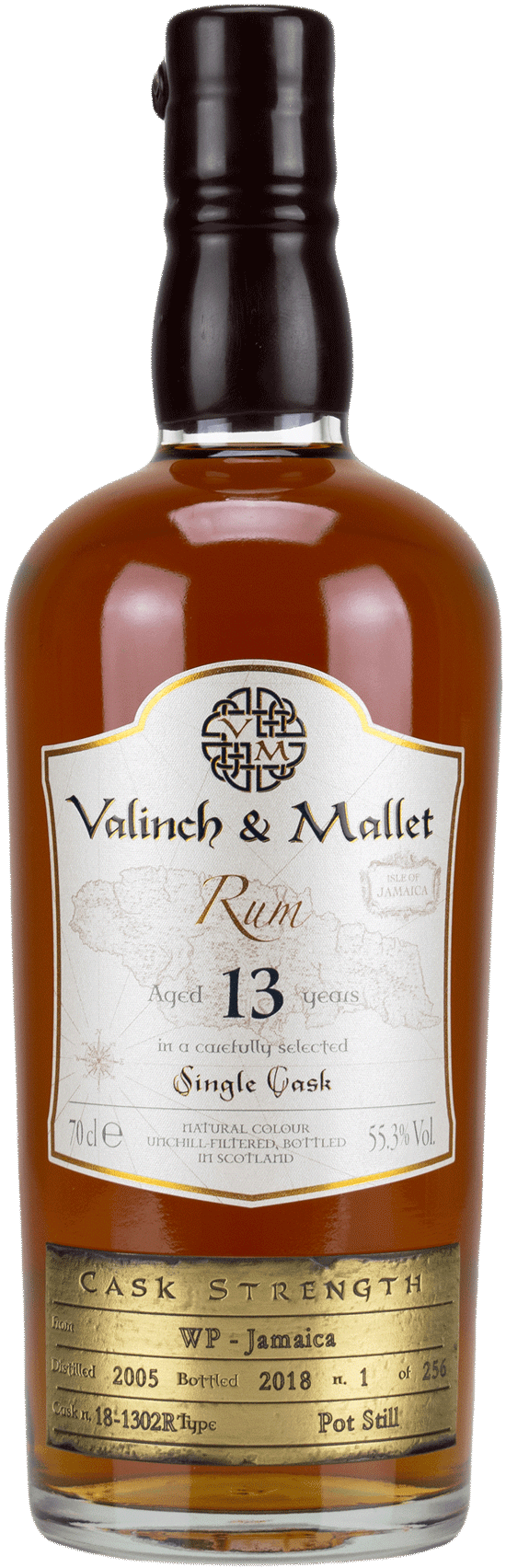 Jamaica WP 13 Valinch & Mallet Pure Single Rum