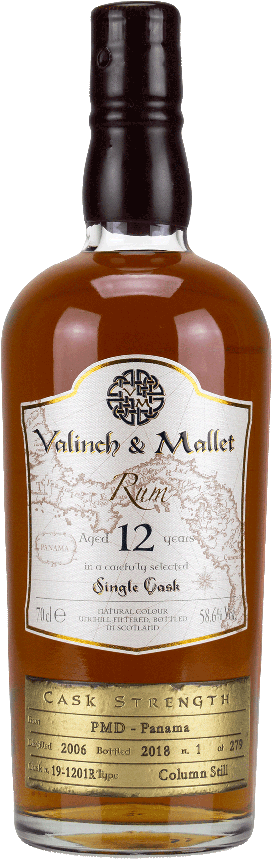 Panama 12 Valinch & Mallet Single Blended Rum