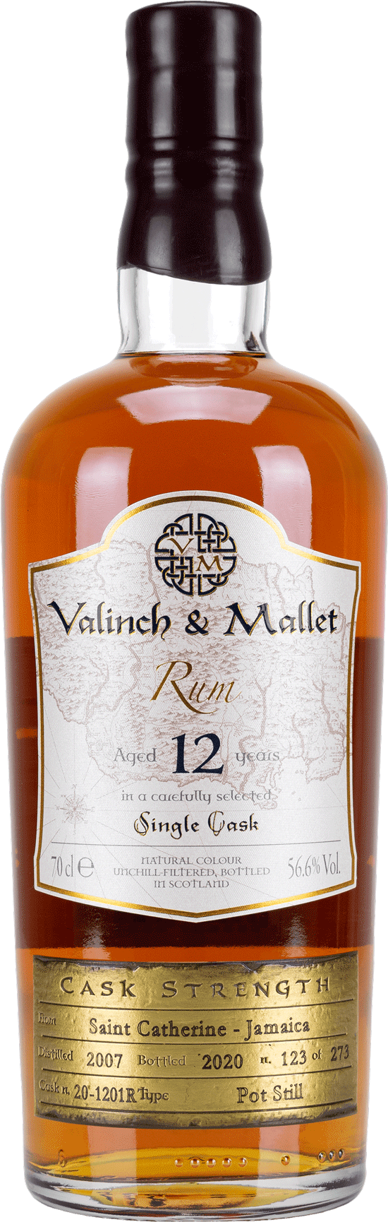 Saint Catherine 12 Valinch & Mallet Pure Single Rum