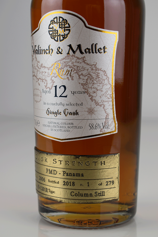 Panama 12 label 2 Valinch & Mallet Traditional Rum
