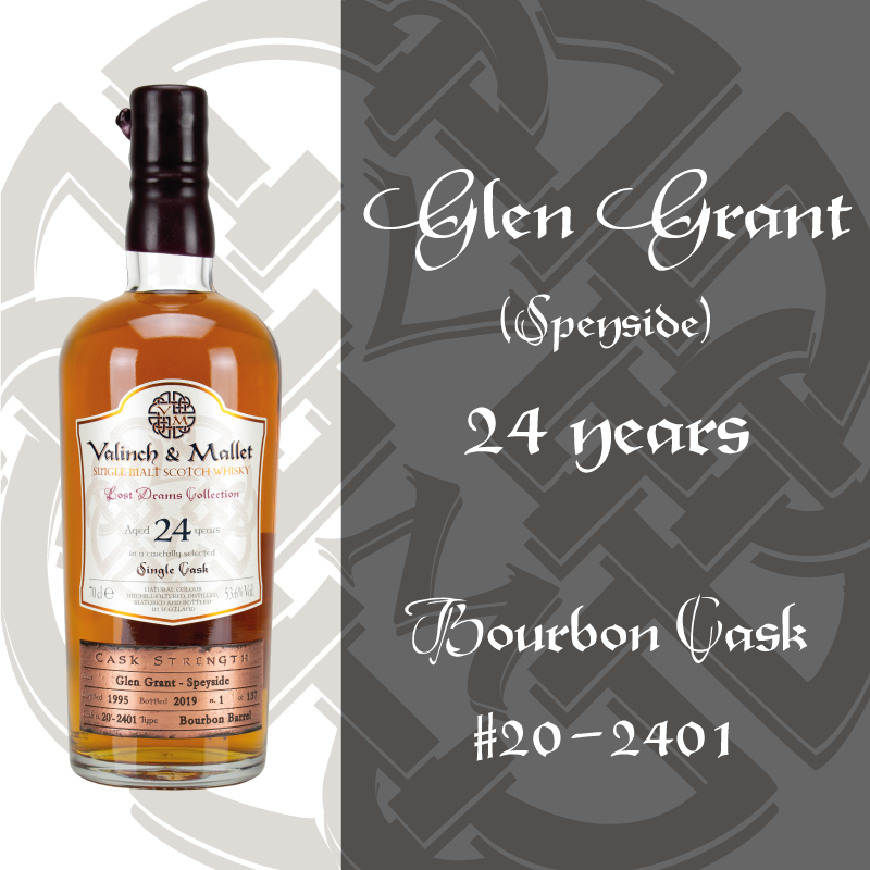 Glen Grant 24 Valinch & Mallet Single Malt Scotch Whisky