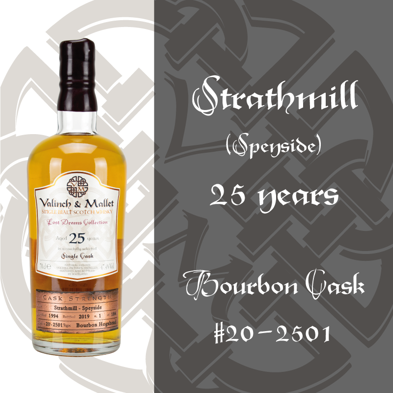 Strathmill 25 Valinch & Mallet Single Malt Scotch Whisky